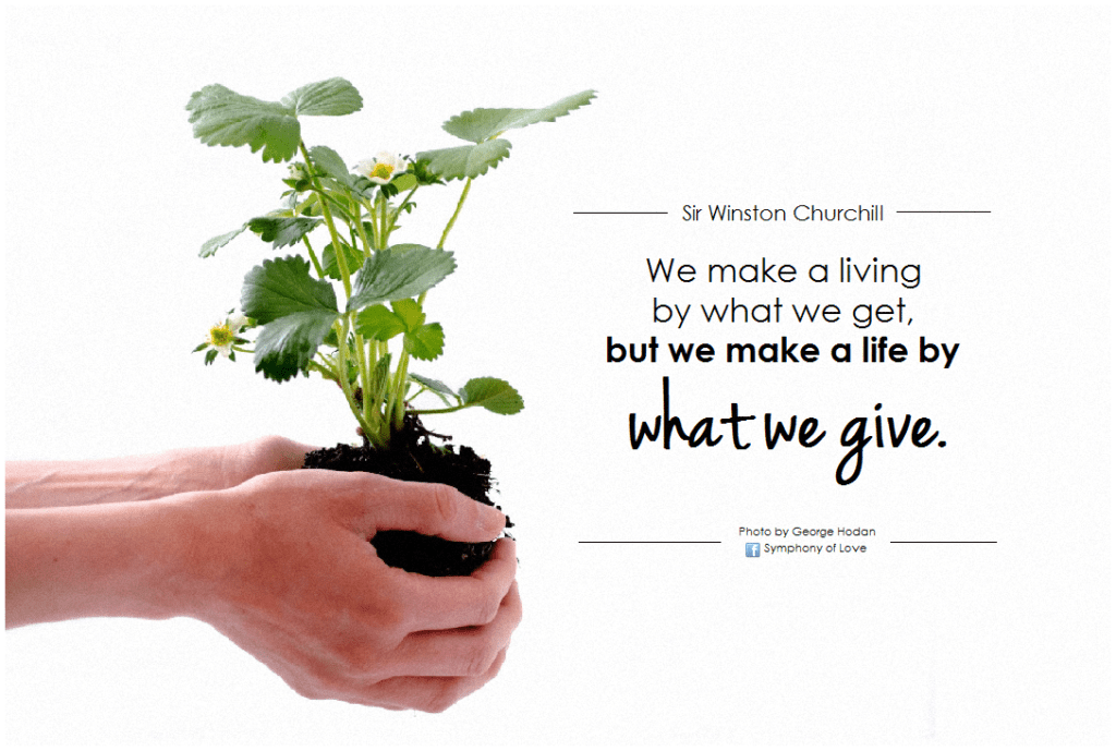 Starting a business? Creating work that you love is closely intertwined with what you do to help others.